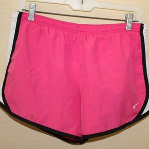 Pink Nike Dri-Fit Shorts (Children's XL)